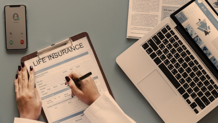 writing a life insurance policy