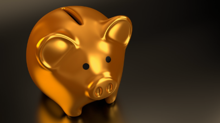 gold piggy bank long term care