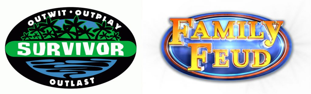 survivor and family feud logos for life insurance
