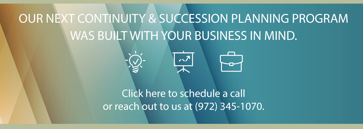 next continuity and succession program call to action
