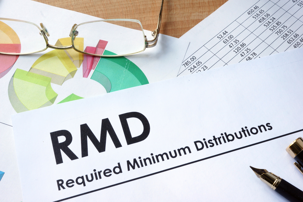 RMDs for CARES Act - required minimum distribution paperwork