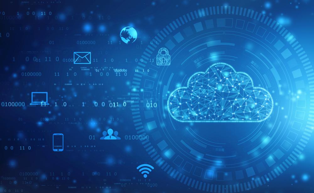 cloud computing and AI icon