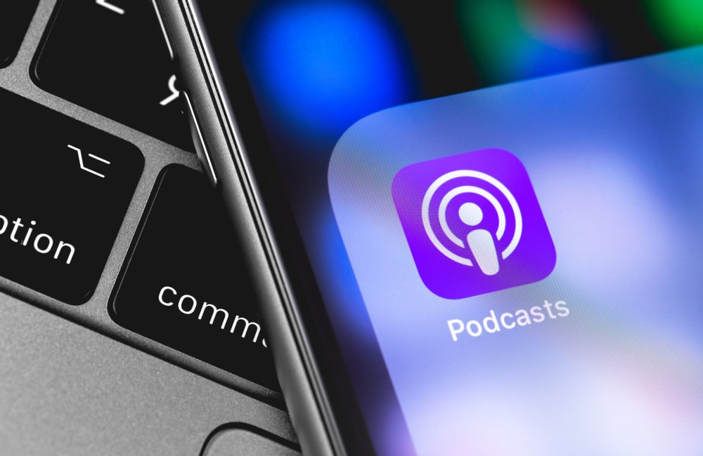 podcast app on iphone
