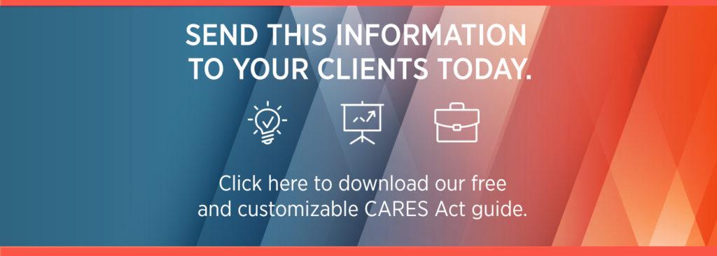 CARES Act RMD Waiver blog CTA
