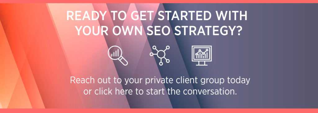 How SEO For Financial Professionals Can Grow Business blog call to action